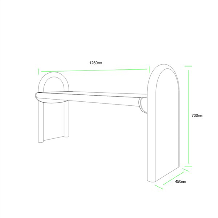 公共座椅AH-M011(图3)