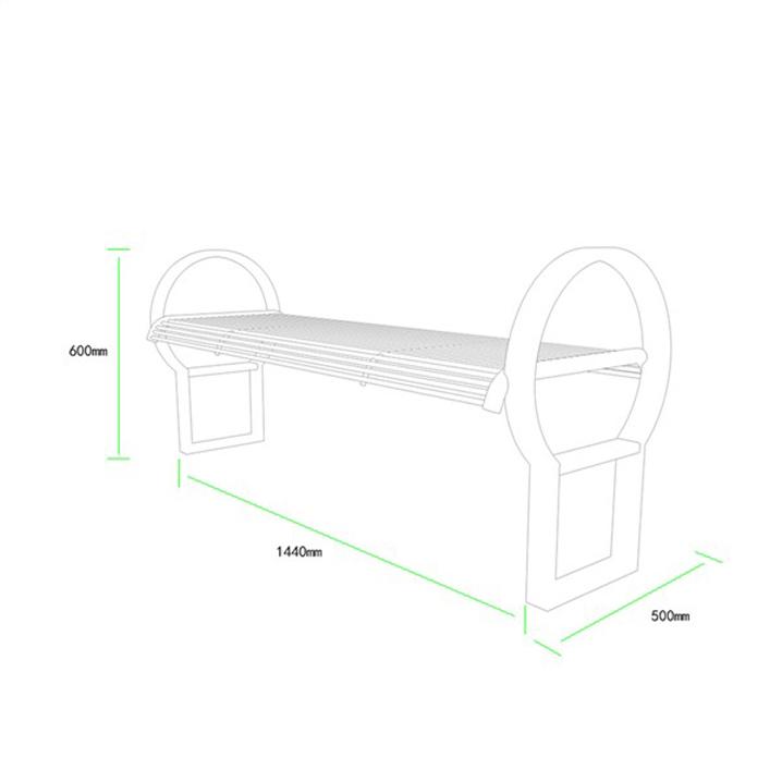 公共座椅AH-M010(图3)