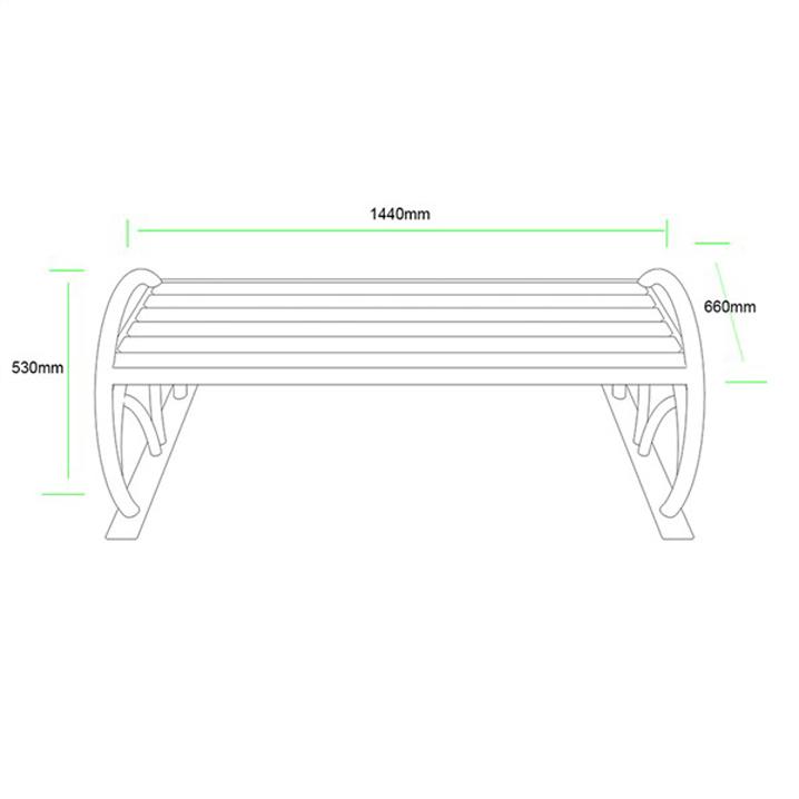公共座椅AH-M008(图3)