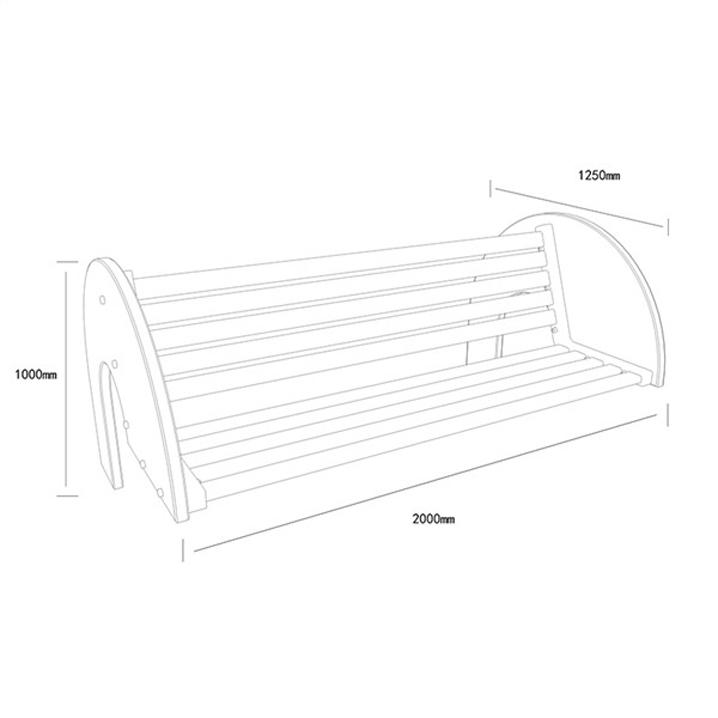 公共座椅AH-M002(图3)