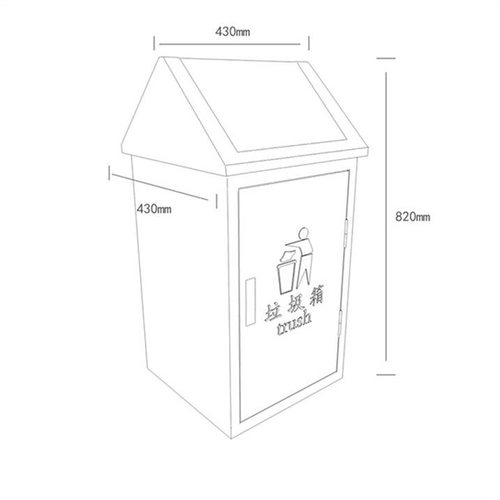 广告垃圾箱AH-2631(图3)