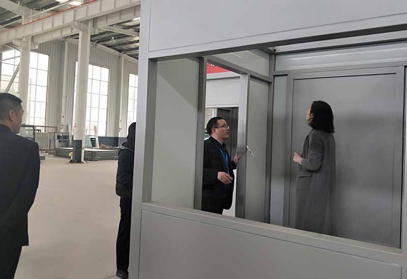 欢迎宿城开发区李佳书记莅临艾华美陈科技公司参观考察(图2)