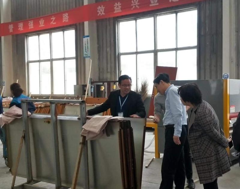 欢迎宿城区张区长、区科技局吴局长莅临艾华美陈指导高新技术企业申报工作(图2)