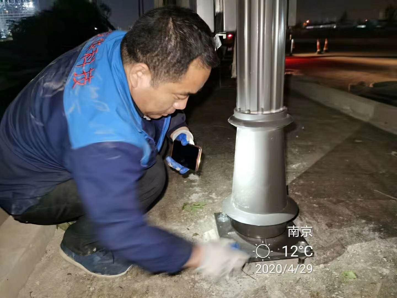 江苏艾华美陈科技有限公司—南京广西埂路施工项目圆满完成(图7)